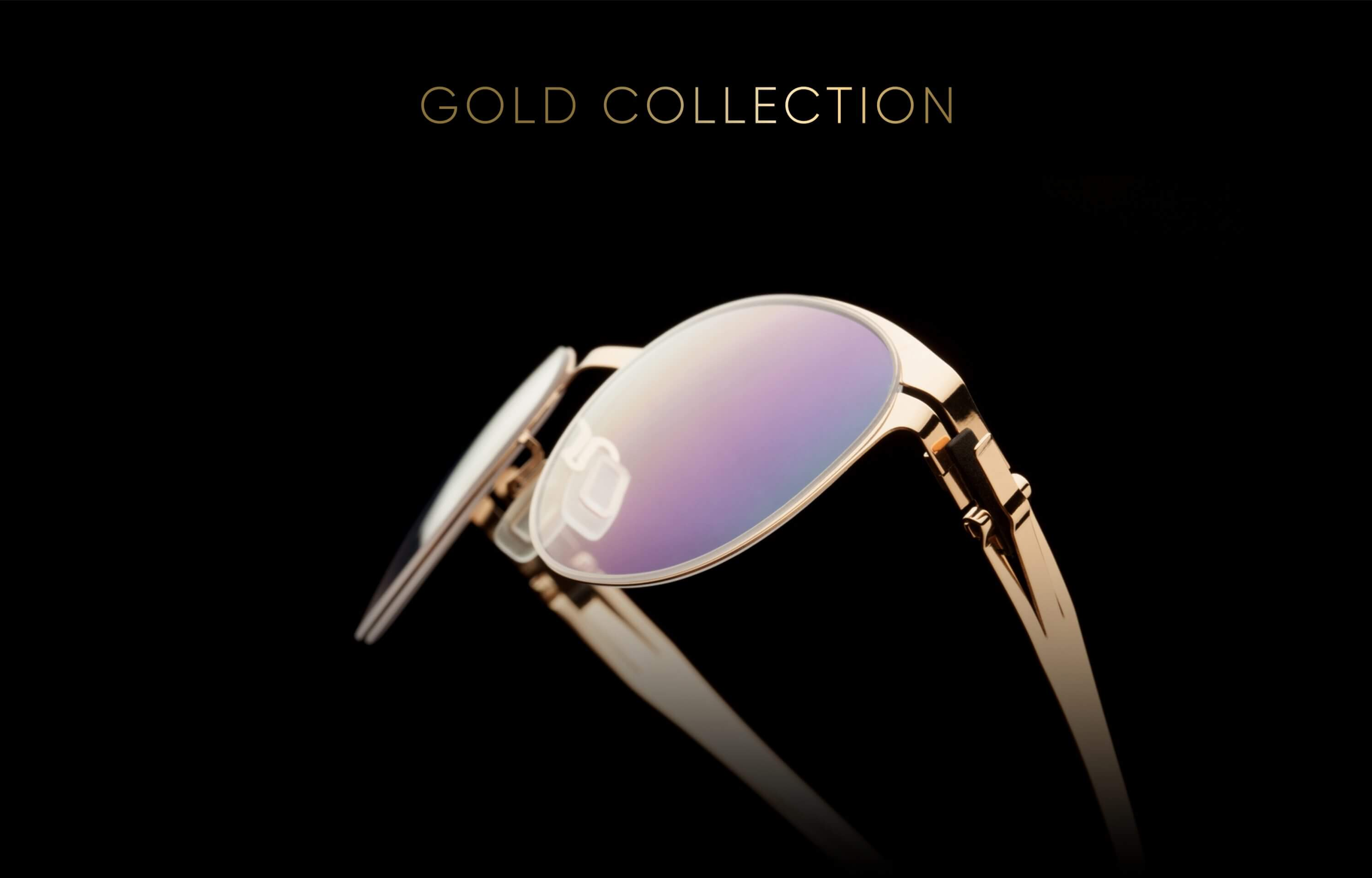 OVVO Optics 14KT Limited Edition Gold Collection